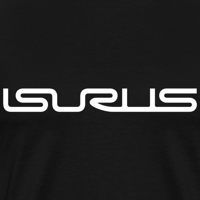 Isurus Text Logo White