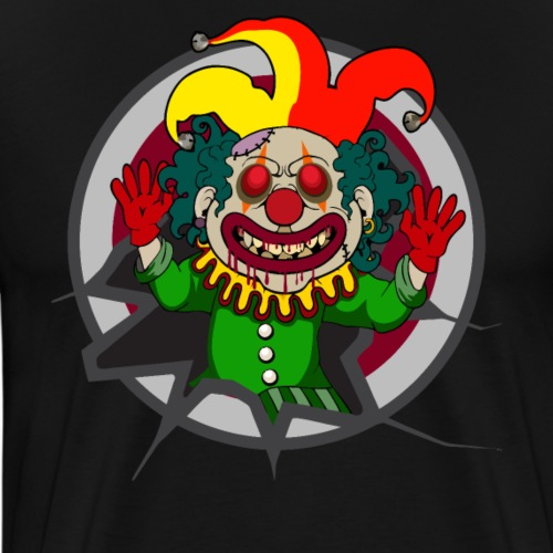 Halloween Clown - Männer Premium T-Shirt