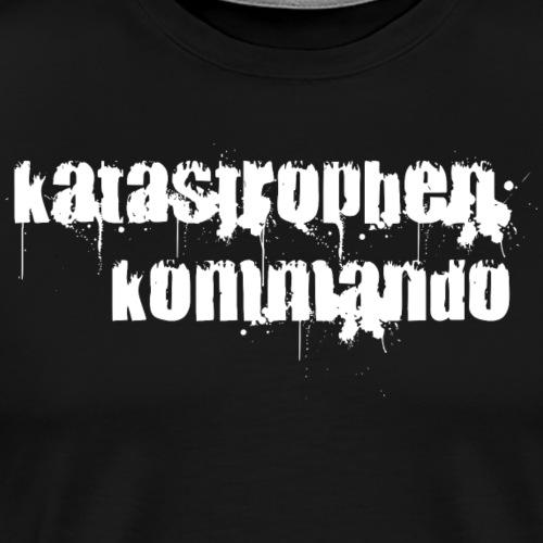 KK Logo weiß - Männer Premium T-Shirt