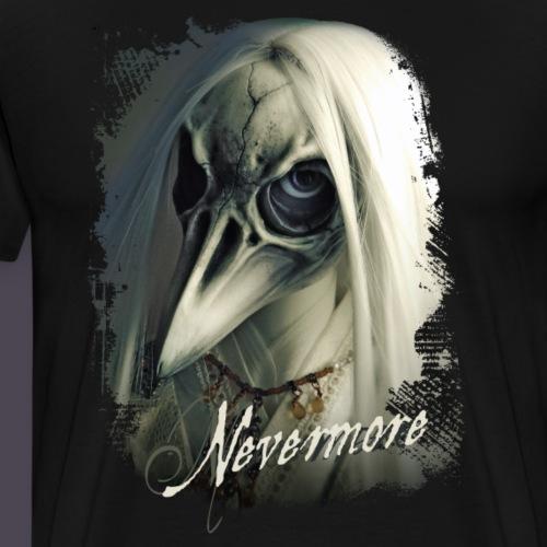 Nevermore - Männer Premium T-Shirt