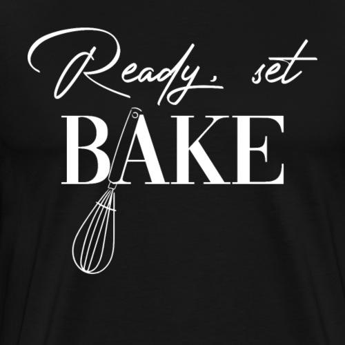 Ready set bake - Mannen Premium T-shirt