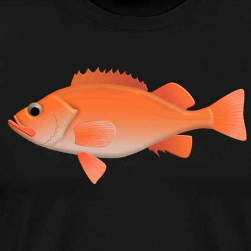 Rotbarsch_natur.png - Männer Premium T-Shirt