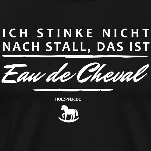 Eau de Cheval - Männer Premium T-Shirt