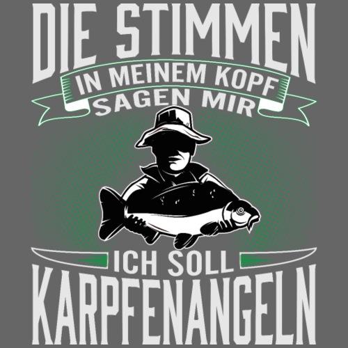 Ich soll Karpfen angeln - Männer Premium T-Shirt