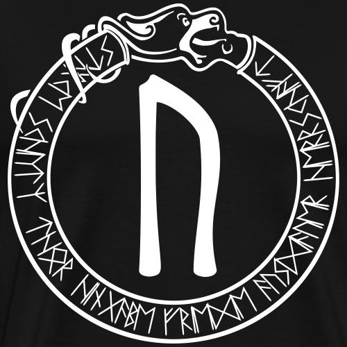 Schutzrune Uruz - Stärke - Vektor - Männer Premium T-Shirt