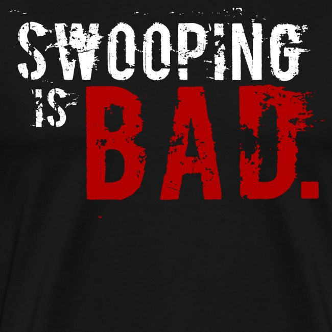 """Swooping is Bad"" Design"