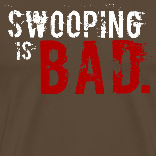 """Swooping is Bad"" Design"