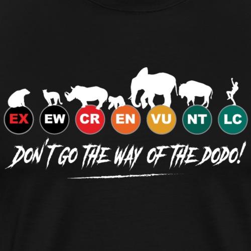 Ne prenons pas la voie de l'extinction !