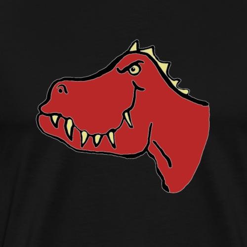 T Rex, Red Dragon - Men's Premium T-Shirt