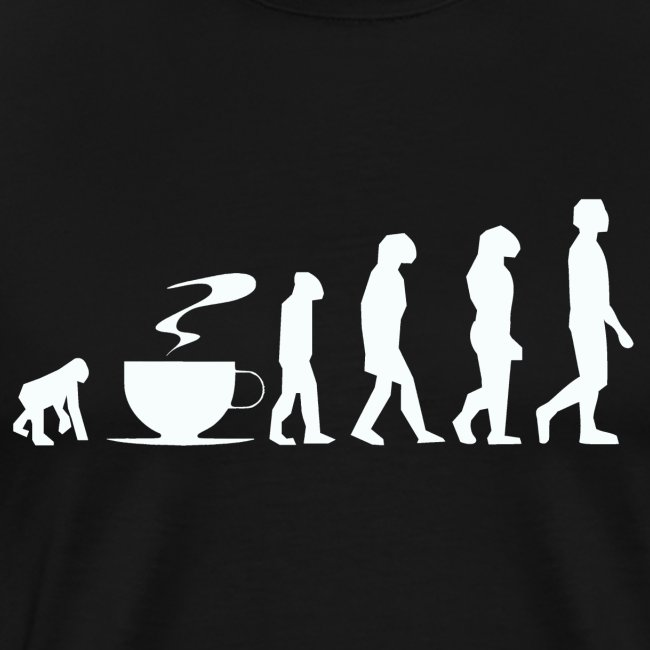 Coffee evolution white png