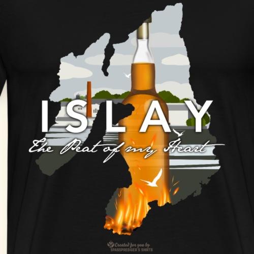 Peat of my Heart   Whisky Shirts - Männer Premium T-Shirt