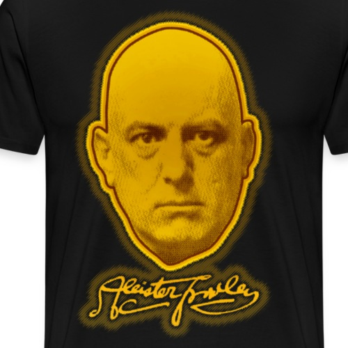 The Great Beast 666 - Aleister Crowley - Men's Premium T-Shirt