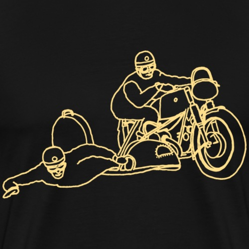 side car or - T-shirt Premium Homme
