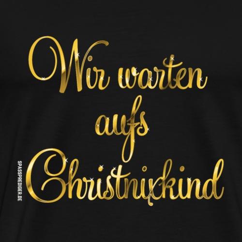 Christnixkind, Gold - Männer Premium T-Shirt