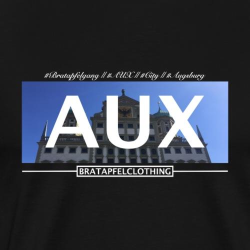 Bratapfel Aux in Weiß - Männer Premium T-Shirt