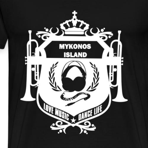 Mykonos Vibes - T-shirt Premium Homme