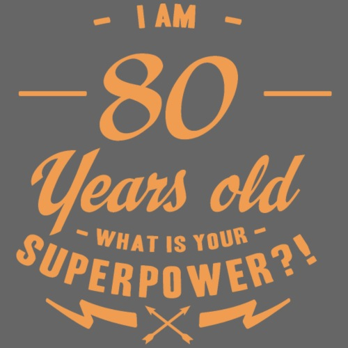 Superpower 80 - Männer Premium T-Shirt