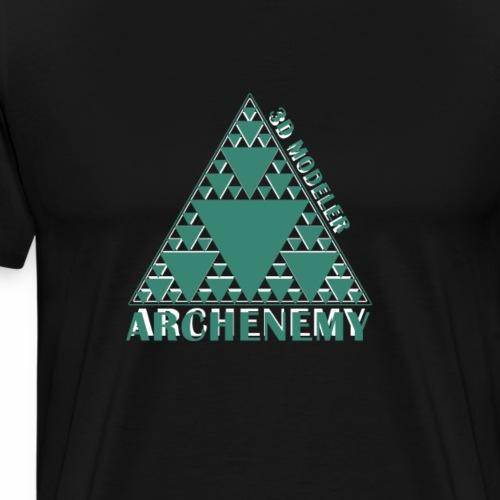 3D modeler Archenemy - Camiseta premium hombre