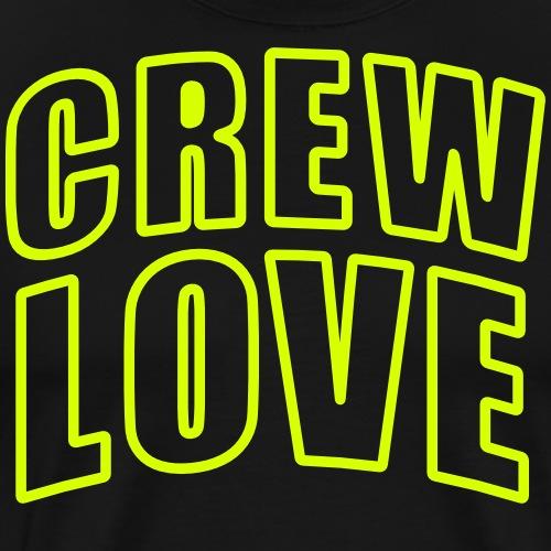 CREW LOVE - Party Festival Crew - BFF - Männer Premium T-Shirt