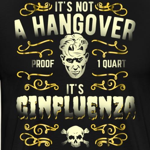 Funny Gin Shirt Ginfluenza - Männer Premium T-Shirt