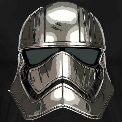 Phasma's Helmet - Men's Premium T-Shirt