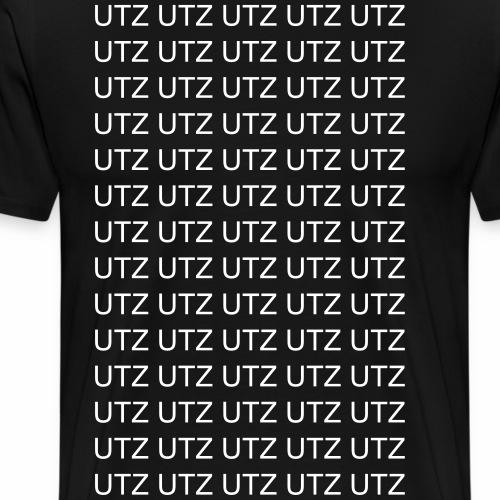 utz utz utz Techno Bass - Männer Premium T-Shirt