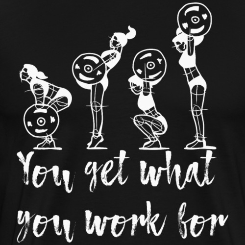 Bodybuilding Spruch T-Shirts Motivation Fitness - Männer Premium T-Shirt