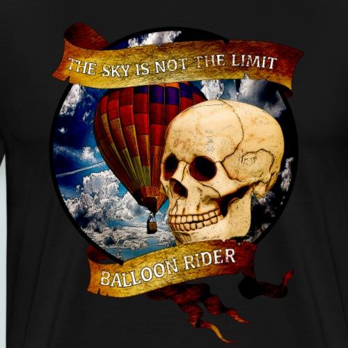 Balloon Rider - Männer Premium T-Shirt