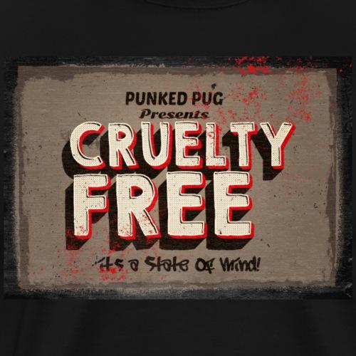 cruelty free - Men's Premium T-Shirt