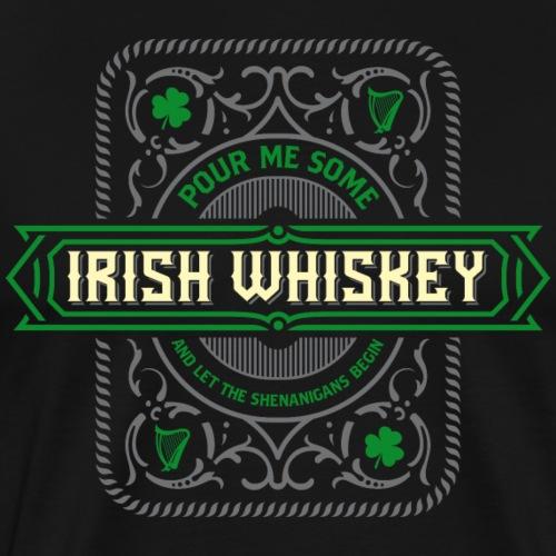 Irish Whiskey 02 - Männer Premium T-Shirt