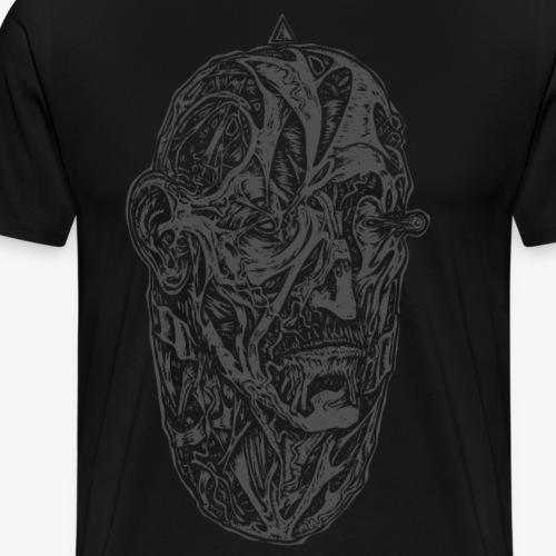 Egg (gris) - T-shirt Premium Homme