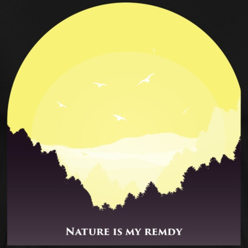 natureismyremedy - Men's Premium T-Shirt