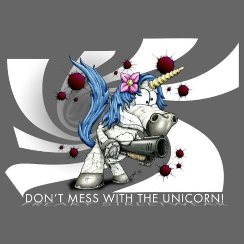 Don't mess with the unicorn - Männer Premium T-Shirt