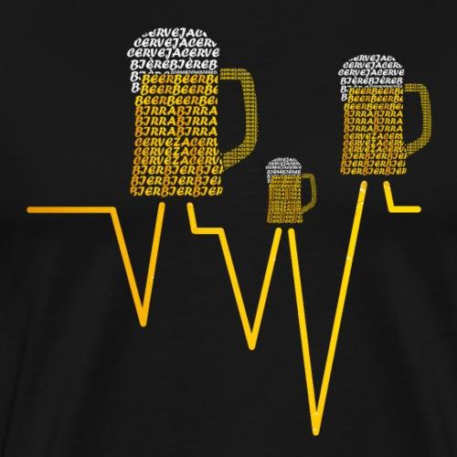 Cerveza Internacional V0 - Camiseta premium hombre