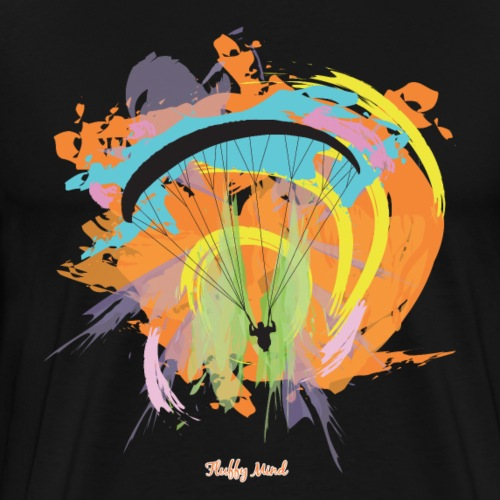Parapente - Color your soul - T-shirt Premium Homme