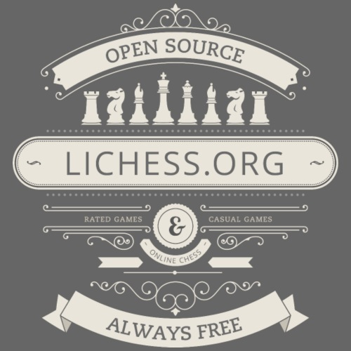 Vintage Lichess - Men's Premium T-Shirt