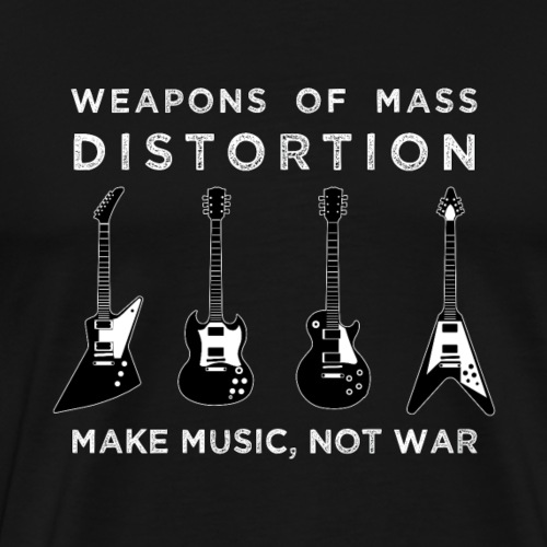 Weapons Of Mass Distortion - Mannen Premium T-shirt