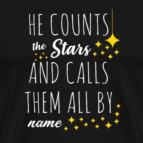He counts the star B - Maglietta Premium da uomo