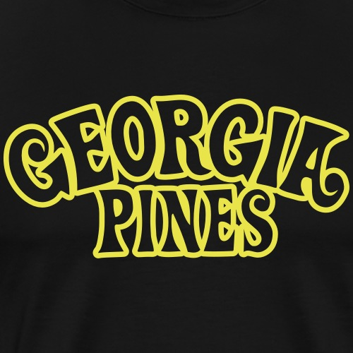 Georgia Pines Logo - Männer Premium T-Shirt