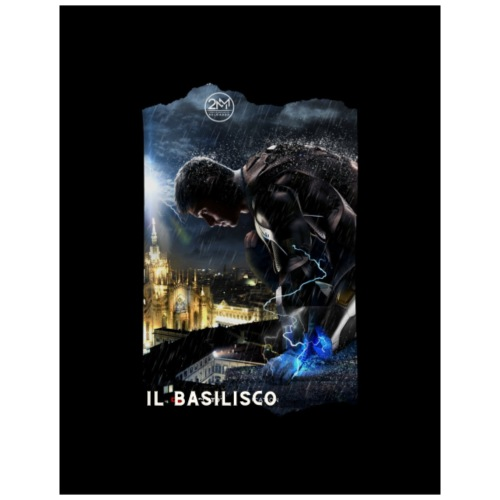 T-shirt del Basilisco - Maglietta Premium da uomo