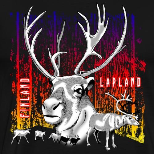 LAPIN POROT, REVONTULET JA TUOTE LAHJAT (01-08) - Miesten premium t-paita