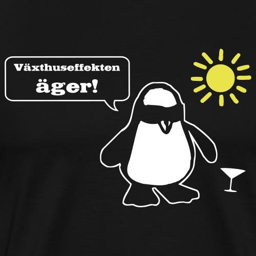 Växthuseffekten äger! - Premium-T-shirt herr
