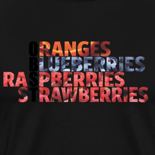 Obst - Männer Premium T-Shirt