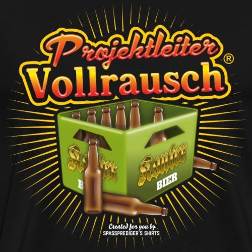 Bier Design Projektleiter Vollrausch® - Männer Premium T-Shirt