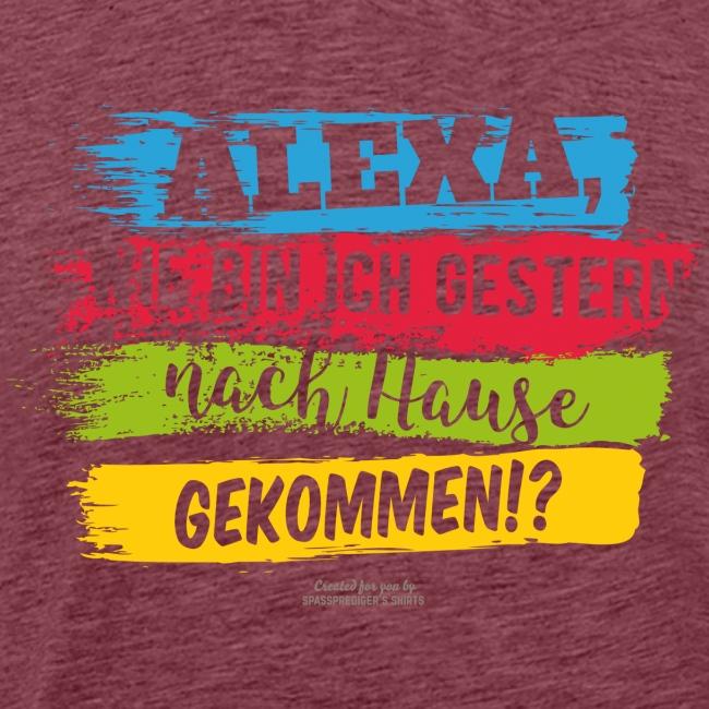 Alexa, Heimweg