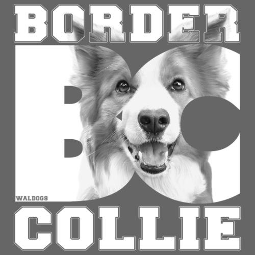 Border BC Collie VII - Miesten premium t-paita