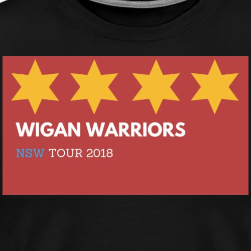Wigan warriors NSW 2 TOUR - Men's Premium T-Shirt