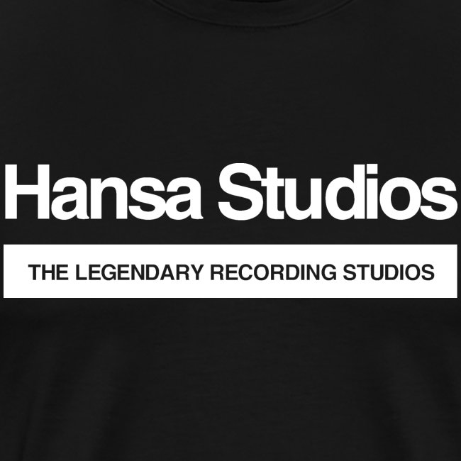 Hansa Studios T-Shirt | Raw (Black)