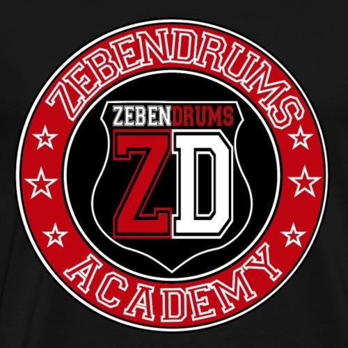 Zebendrums Academy - Camiseta premium hombre