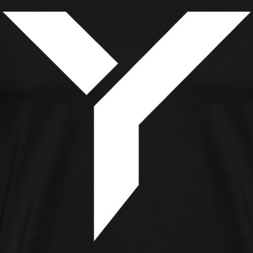 Logo Yuna blanc - T-shirt Premium Homme